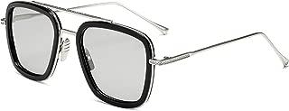 Photochromic Polarized Sunglasses Men Women Metal Sports Driving Glasses Long Keeper