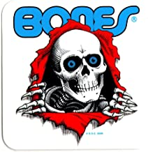 Powell Peralta Skateboard Sticker - Old School Ripper 12.5cm wide approx - clear