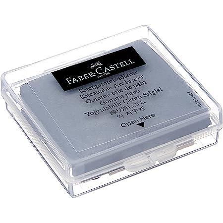 Faber-Castell - Goma de borrar en caja de plástico, color gris