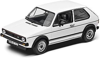 Volkswagen Original VW Golf 1GTI Modelo Auto 1: 43Blanco