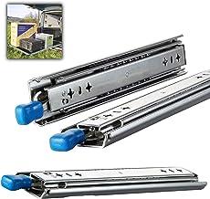 Outech Schuifladengeleiders met vergrendeling, voor zware lasten in de keuken, ladegeleiders, 1200 mm zijdelingse montage ...