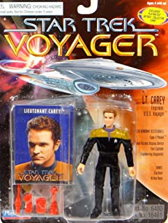 Star Trek Voyager Lt. Carey 4 inch Action Figure