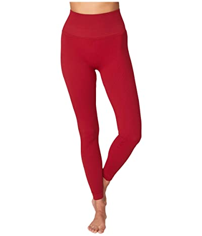 Spiritual Gangster Metta Leggings (Deep Red) Women