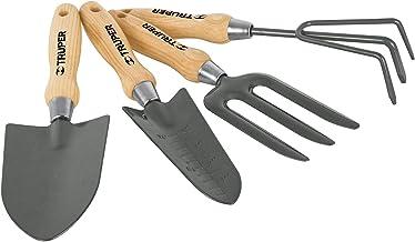 """Truper JJ-4, Juego de 4 herramientas para jardín, 6"""""""