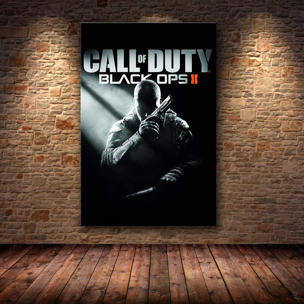 T-YIFUZX Call of Duty Modern War Wall Art Canvas Poster y Print