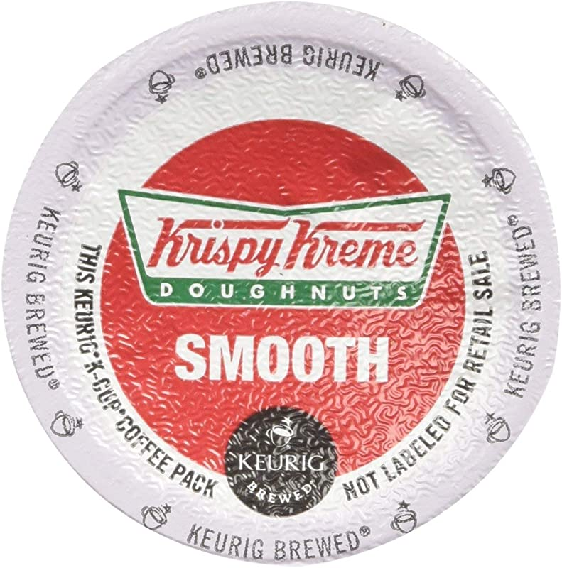 Krispy Kreme Smooth Light Roast Coffee 48 K Cups