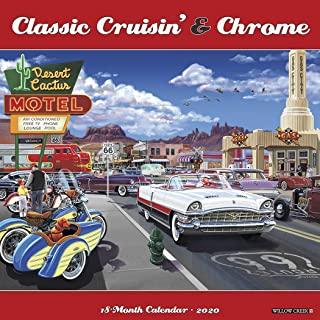 Classic Cruisin' & Chrome 2020 Wall Calendar