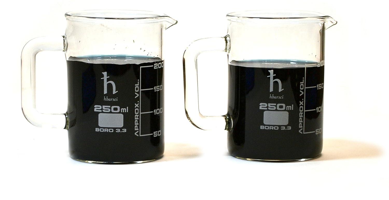 Premium Hand Crafted Beaker Quality Borosilicat Excellence Mugs Same day shipping Laboratory