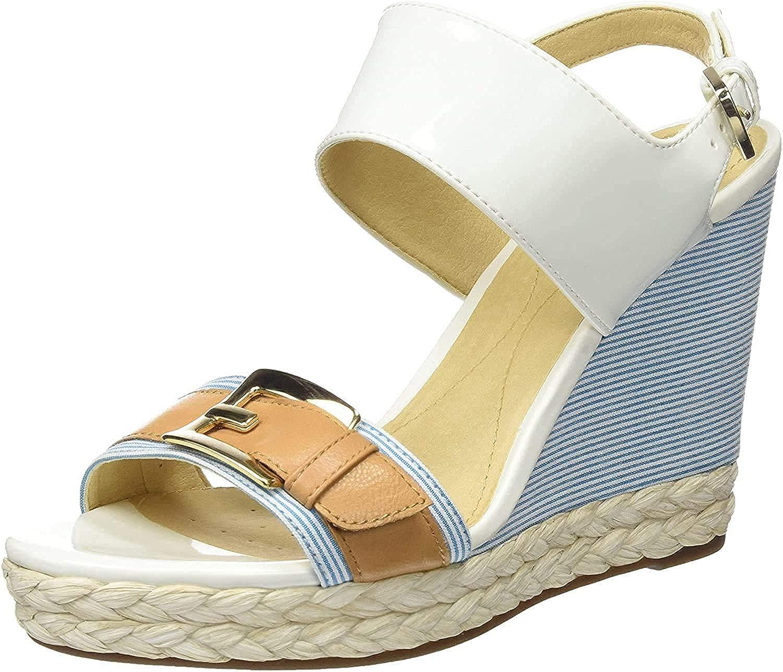 Geox 当店は最高な サービスを提供します Women's Platform Sandals 人気ブランド多数対象