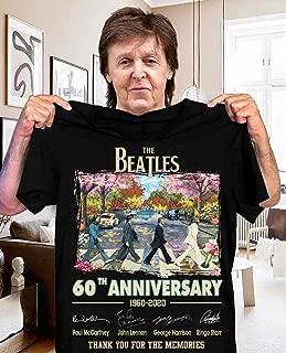 The-Beatles-60th anniversary 1960-2020 signature-shirt