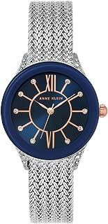 Anne Klein AK/N2209NVRT Analog Quartz Silver Watch
