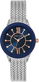 Anne Klein AK/N2209NVRT Analog Quartz Silver Watch