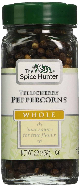 cheap Spice Hunter Black Pepper Whole 2.2-Ounce Max 53% OFF Unit Pack Tellichery