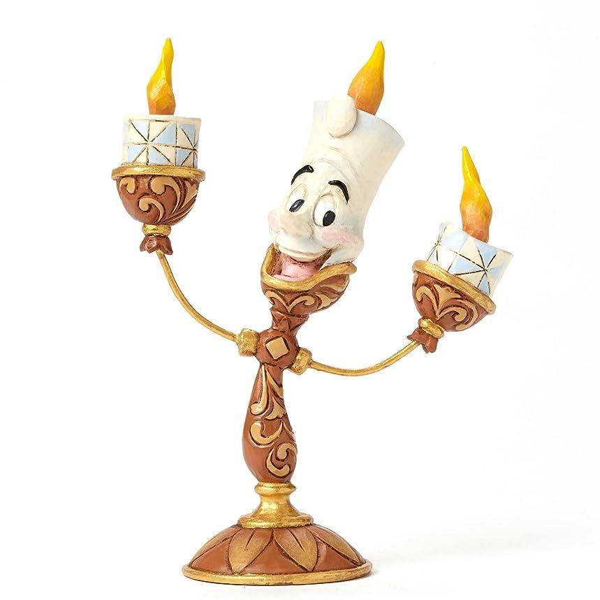 単独で過ち飛行場Enesco(エネスコ) Disney Traditions Lumiere Figurine 4049620 [並行輸入品]