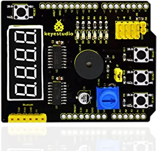 KEYESTUDIO Multi-Purpose Shield V2 for Arduino UNO R3 and MEGA2560