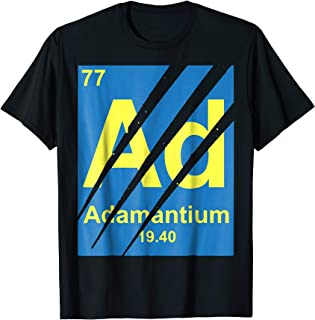 Marvel Wolverine Claws Adamantium Element Graphic T-Shirt
