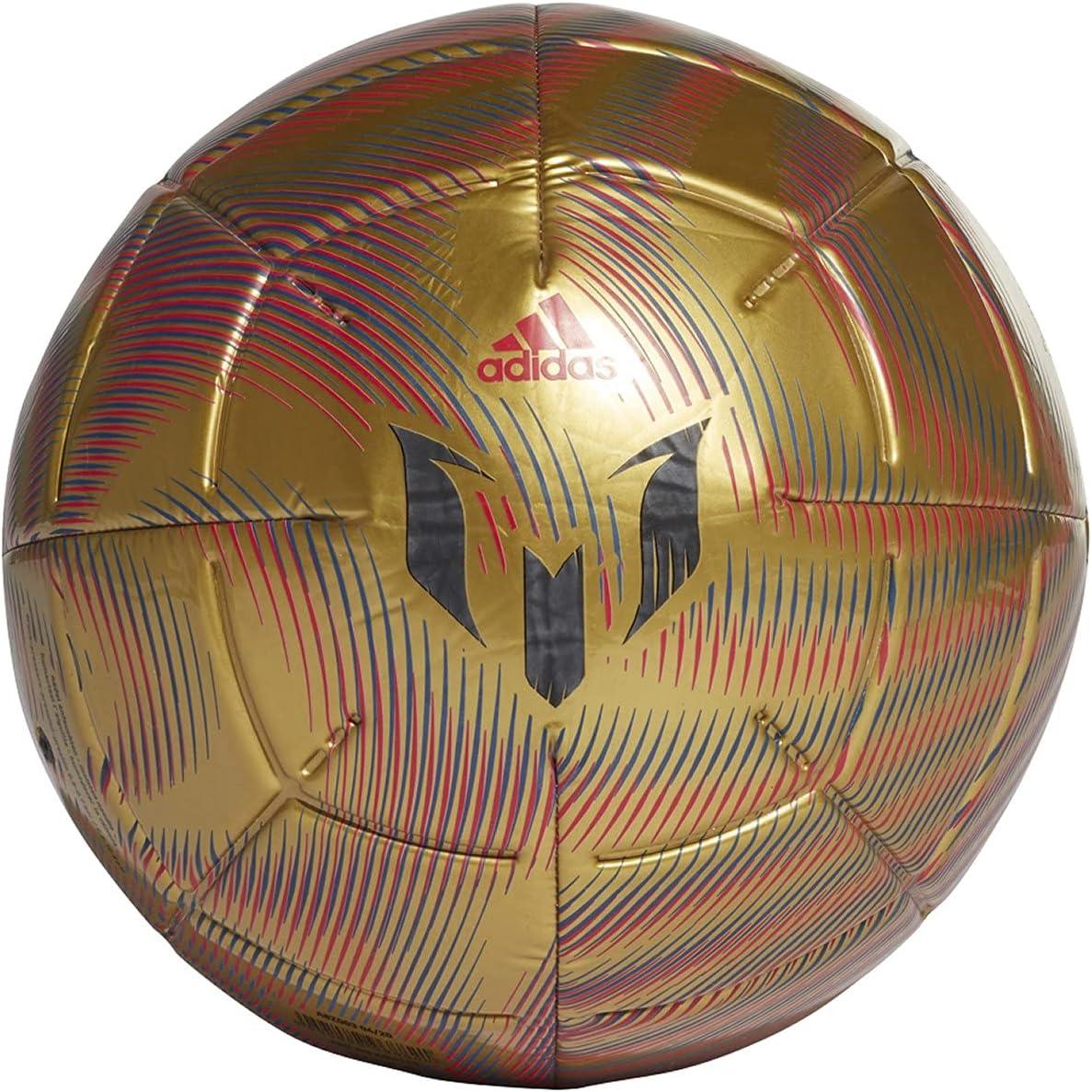 price adidas Messi Club Soccer Elegant Ball Royal Scarlet Metallic Gold B