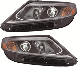 Best 2014 kia sorento headlight assembly replacement Reviews