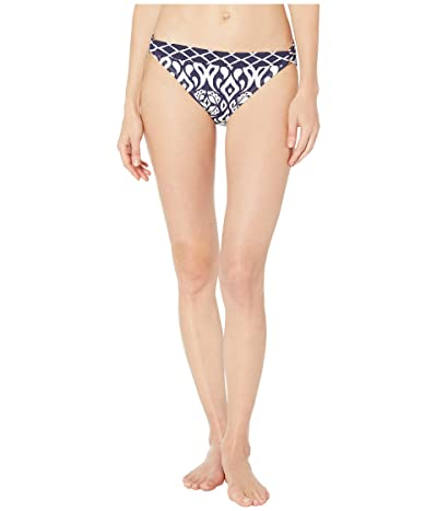 Tommy Bahama Ikat Diamonds Hipster with Trim (Mare Navy) Women