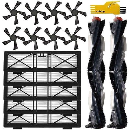 6Pcs Roboter Staubsauger-Teile-Serie Red Rubber Belt for Neato BotVac Serie Riemen durch die Seitenb/ürste Without brand LT-Home