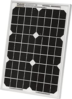 Photonic Universe - Placa solar para caravanas, barcos y cualquier otro sistema descentralizado de 12 V