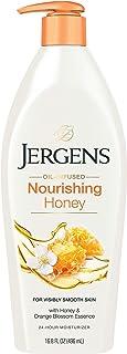 Jergens Nourishing Honey Moisturizer, 496 ml