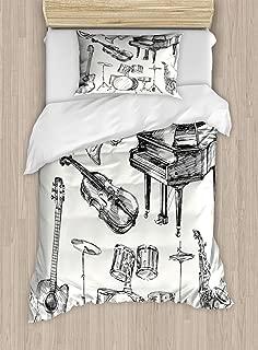 musical instrument bedding