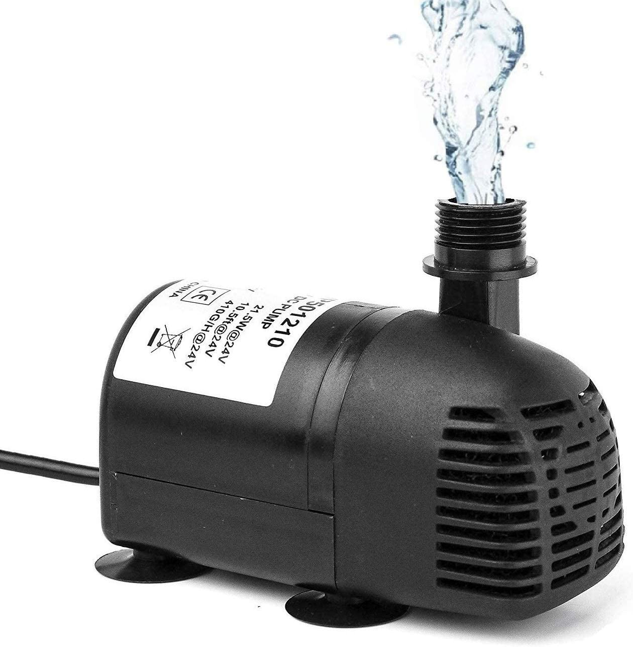 12V - 24V DC Brushless Submersible Water 1 year Price reduction warranty Solar 410GPH for Pump