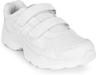 Campus Bingo-51V Kids White School Shoes