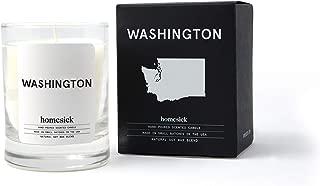 Homesick Mini Scented Candle (10 to 12 hr Burn Time) Home, 1.5 oz, Washington