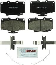 Bosch BC611 QuietCast Premium Ceramic Disc Brake Pad Set For Toyota: 1992-2001 4Runner, 1993-1998 T100; Front