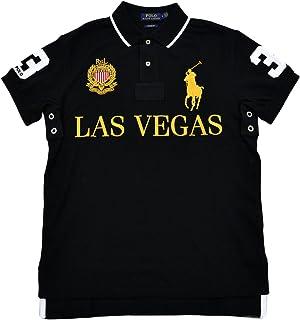 c25396cff Polo Ralph Lauren Mens Big Pony City Custom Fit Mesh Polo Shirt