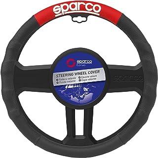 SPARCO SPC1111RS Coprivolante, Nero/Rosso