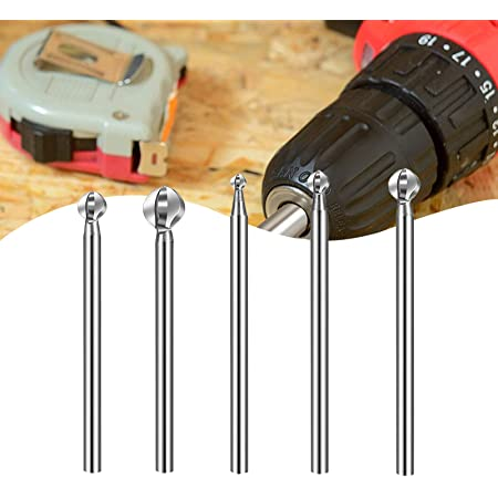 Carving Cutter Root Tools 10 Pieces Routing Wood Milling Rotary For Engraving