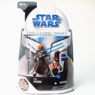 Star Wars Plo Koon with Lightsaber Gauntlet The Clone Wars