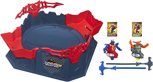 Hasbro All-in-One Octagon Showdown Battle Set with 2 Entrance Ramps by Beyblade