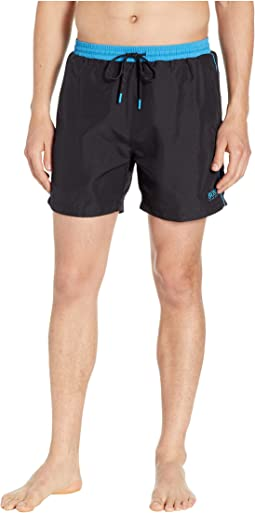 4a66a67f825012 BOSS Hugo Boss. Starfish Swim Trunks. $68.00. 5Rated 5 stars out of 5. Black