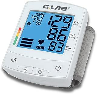 G.LAB Digital Automatic md2231 Wrist Cuff Blood Pressure Monitor, 2.3 Ounce