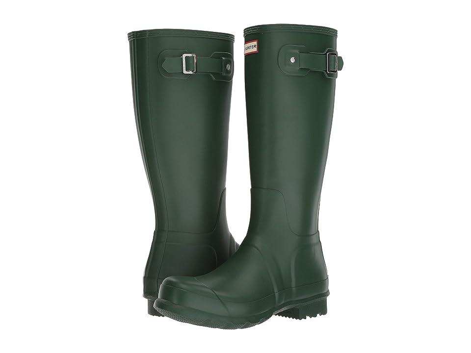 Hunter Original Tall Rain Boots (Hunter Green) Men