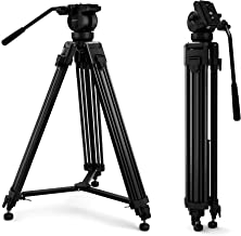 manfrotto mt055xpro3 aluminum tripod with 502hd fluid head