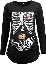 Pregnant Skeleton Twins Baby Boy /& Girl Halloween Costume  Cosplay Costume  Rashguard Leggings Rashie  Plus Size  Baby Bump Bones Party
