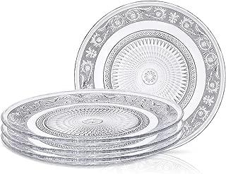 Best glass divided dinner plates Reviews