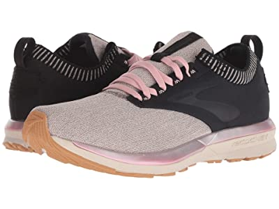Brooks Ricochet (Black/Tan/Pink) Women