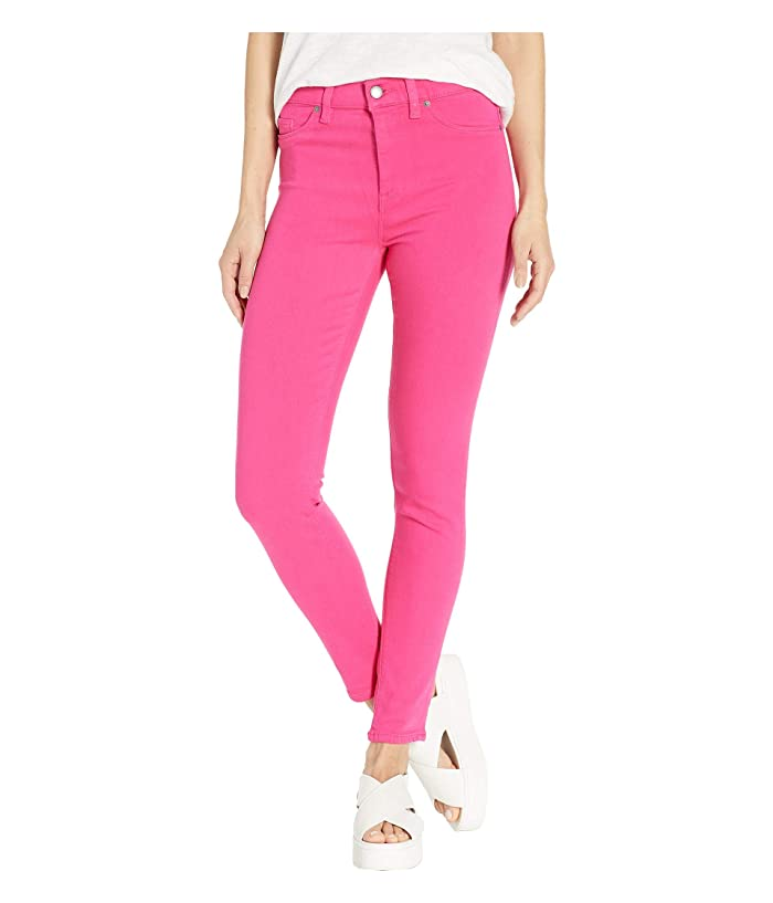 75a44c851df Hudson Jeans Barbara Ankle High-Rise Skinny Jeans in Fuchsia at ...