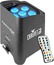 Chauvet DJ Freedom Par Tri-6 LED PAR Lighting Fixture with IRC-6 Remote & 1 Year Free Extended Warranty