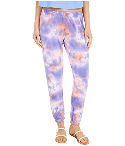 Spiritual Gangster Perfect Sweatpants (Purple/Sherbert/Lavender Tie-Dye) Women