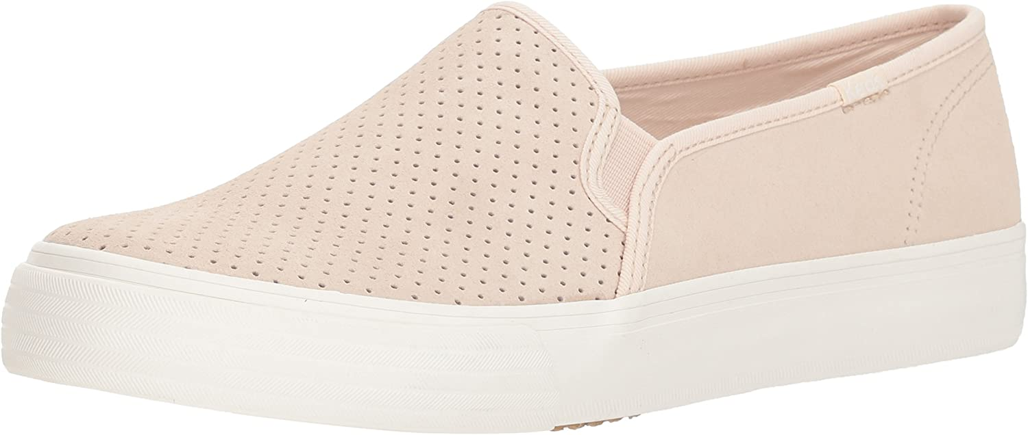 Keds Women's Double Decker Perf Suede Sneakers