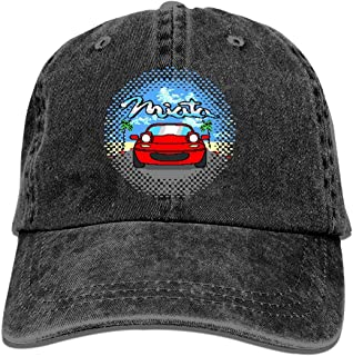 Nagetive Bit Miata Unisex Adjustable Hat Travel Sunscreen Caps