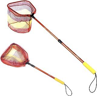 FunVZU Kids Fishing Net - Ultralight Telescopic Aluminum...