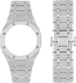 Bracelet de montre en métal avec outils pour G-Shock GA-2100 GA-2110, kit d'accessoires de rechange en acier inoxydable co...
